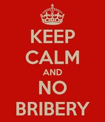 no bribery